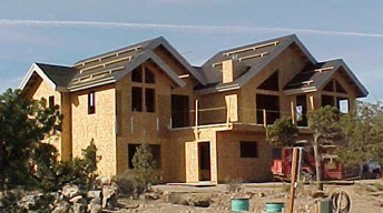 A House under Construction - Home Loans